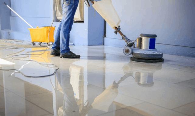 Floor Striping & Waxing